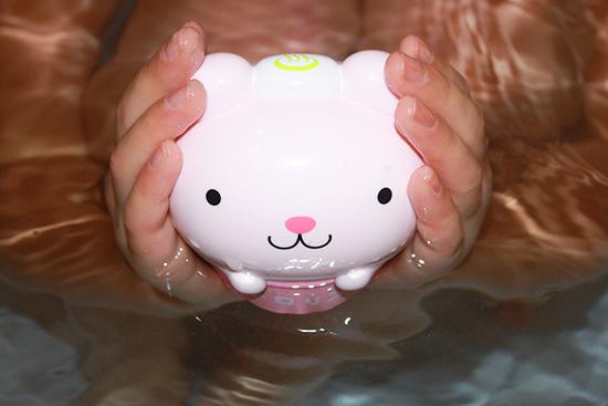 お風呂に浮かべておしゃべりトロリン
