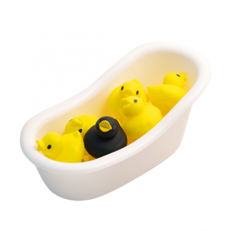 Mini duck bath